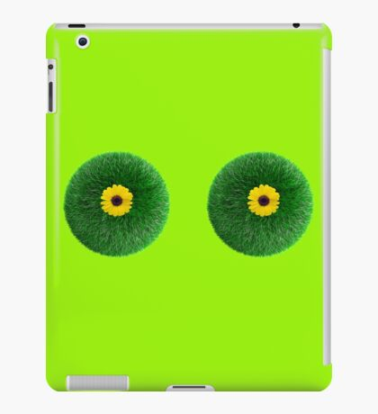 Flower boobs iPad Case/Skin