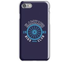 Hawkins Bike Club iPhone Case/Skin