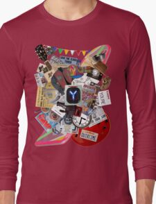 Back to the Future Trilogy MIX Long Sleeve T-Shirt