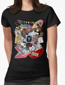 Back to the Future Trilogy MIX Womens Fitted T-Shirt