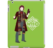 Doctor Who No. 4 Tom Baker - T-shirt iPad Case/Skin