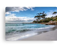 The Bay of Fires at Binalong Bay Canvas Print