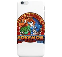 MONSTER TRAINING GAME- POKEMON iPhone Case/Skin