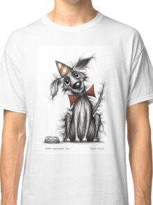 Happy Birthday dog Classic T-Shirt