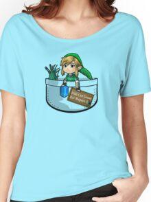 "Zelda ""Will Cut Grass For Rupees"" Women's Relaxed Fit T-Shirt"