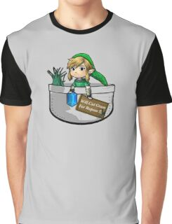 "Zelda ""Will Cut Grass For Rupees"" Graphic T-Shirt"