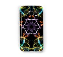 Psychedelic Multi-Colored Electric Circle Samsung Galaxy Case/Skin