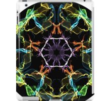 Psychedelic Multi-Colored Electric Circle iPad Case/Skin
