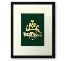 Bushwood (Light) Framed Print