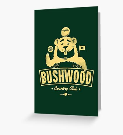 Bushwood (Light) Greeting Card
