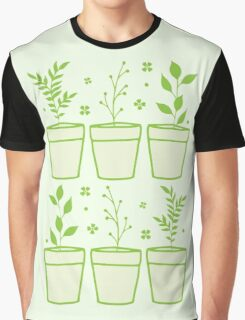 six pot plants Graphic T-Shirt