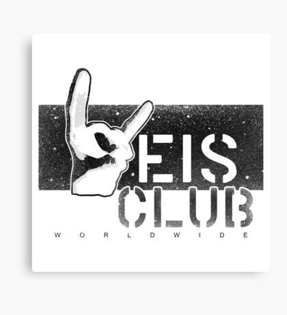 Weis Club Black and White Canvas Print