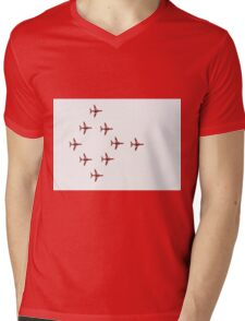 The Red Arrows Mens V-Neck T-Shirt