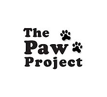 The Paw Project Logo Photographic Print