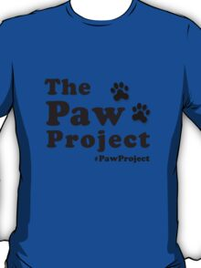 The Paw Project Logo T-Shirt