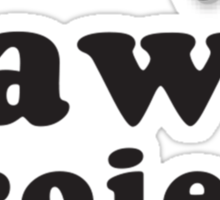The Paw Project Logo Sticker