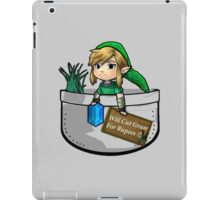 "Zelda ""Will Cut Grass For Rupees"" iPad Case/Skin"