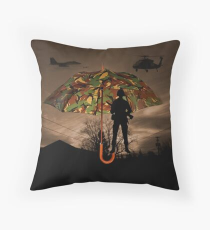 UNDER COVER -THROW PILLOW Throw Pillow