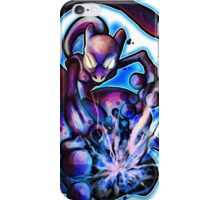 POWERFUL PURPLE CAT iPhone Case/Skin