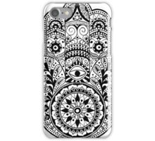 Buddhist hand iPhone Case/Skin