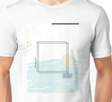 Abstract geometric collage Unisex T-Shirt