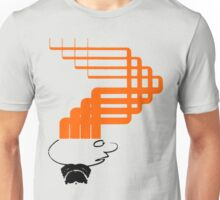 sci-fi hair (orange variant) Unisex T-Shirt