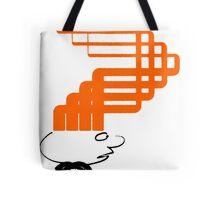 sci-fi hair (orange variant) Tote Bag