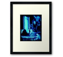 Ghosts in the fountain Framed Print