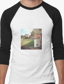 Rust Colored Coke Men's Baseball ¾ T-Shirt