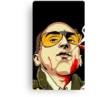 Taxi Driver Fear And Loathing In Las Vegas Canvas Print