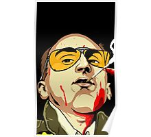 Taxi Driver Fear And Loathing In Las Vegas Poster
