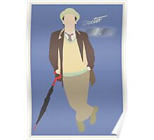 Doctor Who No. 7 Sylvester McCoy - Poster & stickers Poster