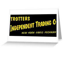 Trotters Indipendent Tradings Funny Only Fool And Horses TV Greeting Card