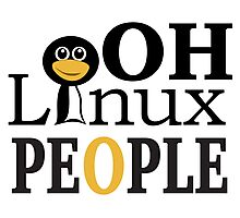 Oh Linux People - Tshirts & Hoodies  Photographic Print