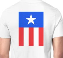 AMERICAN, America, US, USA, Captain America, Star and stripes Unisex T-Shirt