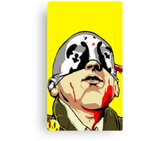 Taxi Driver Rorschach Watchmen Canvas Print