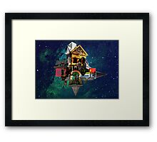 Rubix Manor Framed Print