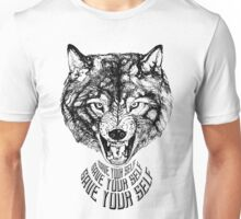 Save Your Self - Wolf Unisex T-Shirt