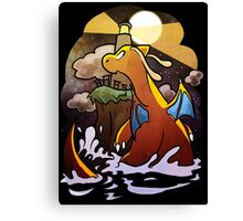 DRAGONITE LIGHTHOUSE  Canvas Print