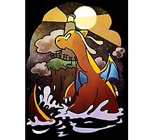 DRAGONITE LIGHTHOUSE  Photographic Print