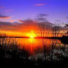 Sunset Over Jordan by Chanel70