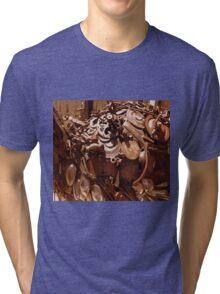 Rusty sculpture Tri-blend T-Shirt