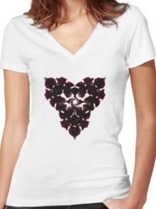 Glyph 29 Women's Fitted V-Neck T-Shirt