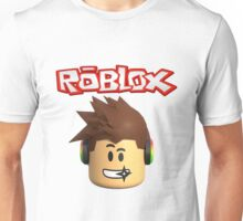 Roblox Character Head Unisex T-Shirt