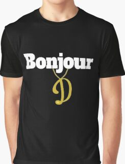 Funny Delboy Quotes And Sayings - Bonjour - French For Goodbye  Graphic T-Shirt