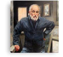 Burton Silverman: American Artist Canvas Print
