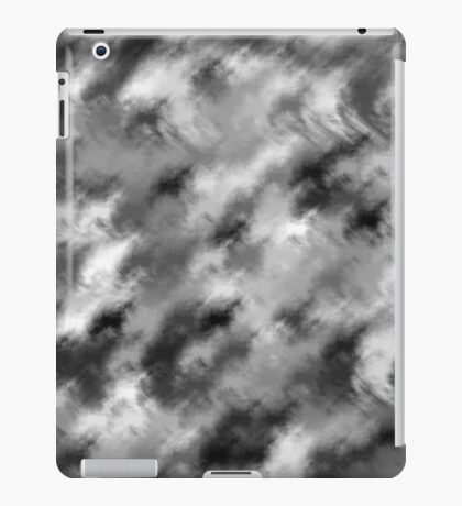 grey fluff iPad Case/Skin