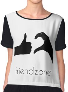 FRIENDZONE Chiffon Top