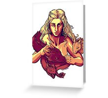 Dracarys Greeting Card
