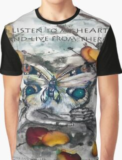 Message from the Heart Graphic T-Shirt